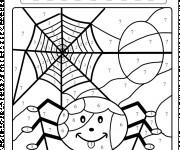 Coloriage et dessins gratuit Toile d'Araignée à imprimer