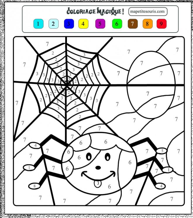 Coloriage et dessins gratuits Toile d'Araignée à imprimer