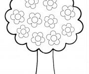 Coloriage et dessins gratuit Arbres 5 à imprimer