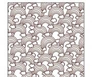 Coloriage dessin  Arc-en-ciel 13