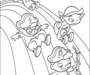 Coloriage dessin  Arc-en-ciel 17