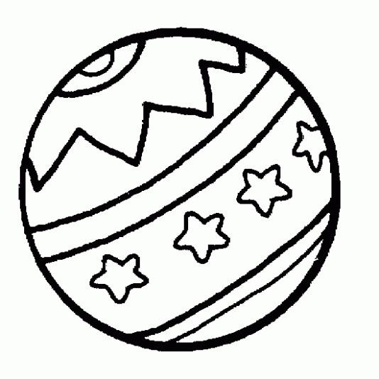 Coloriage et dessins gratuits Ballon de Plage dessiné à imprimer