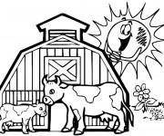 Coloriage et dessins gratuit Agriculture et Campagne à imprimer