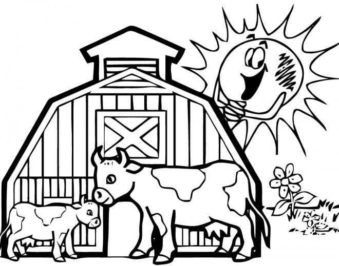Coloriage et dessins gratuits Agriculture et Campagne à imprimer