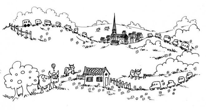 Coloriage Campagne 55 dessin gratuit à imprimer