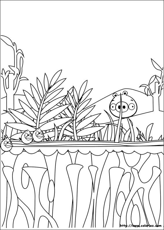 Coloriage et dessins gratuits Campagne dessin animé à imprimer