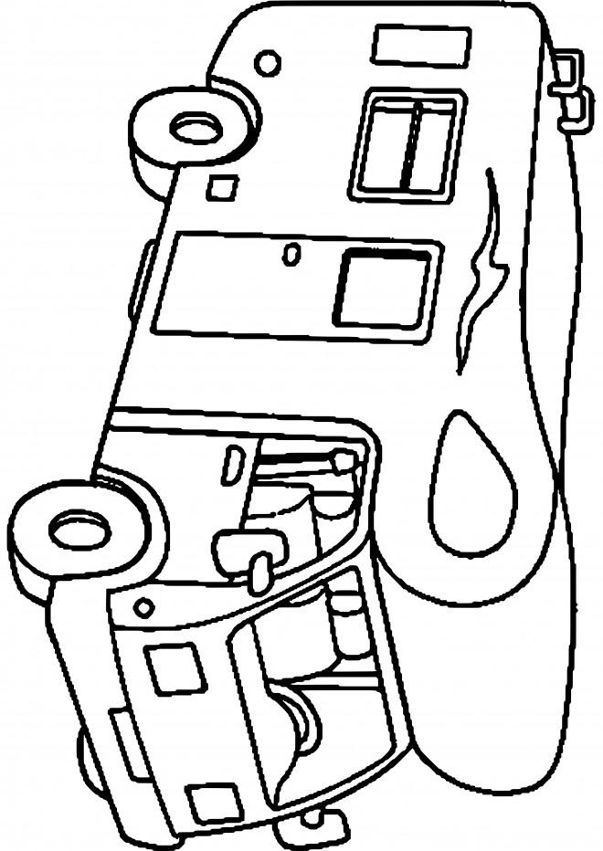 Coloriage camping car d corer dessin gratuit imprimer - Coloriage cars couleurs ...