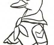 Coloriage dessin  Canard 66