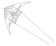 Coloriage dessin  Cerf-volant 12