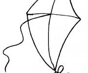 Coloriage dessin  Cerf-volant 5