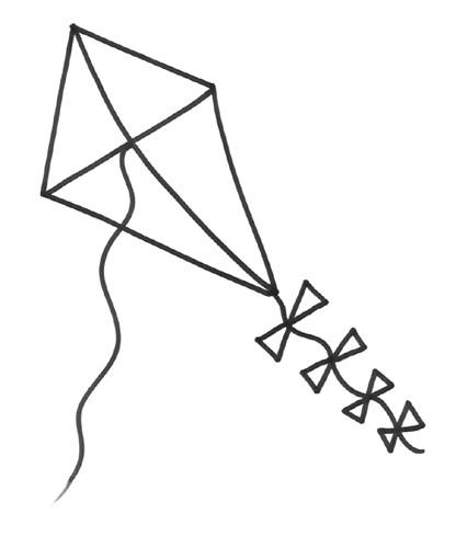 Coloriage et dessins gratuits Cerf-volant en ligne à imprimer