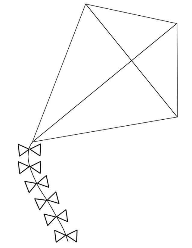 Coloriage mod le de cerf volant dessin gratuit imprimer - Dessiner un cerf ...