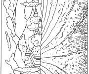 Coloriage dessin  Champs 5