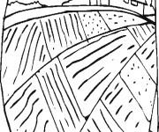 Coloriage et dessins gratuit Champs et La Ferme à imprimer