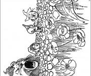 Coloriage et dessins gratuit Champs pour enfant à imprimer