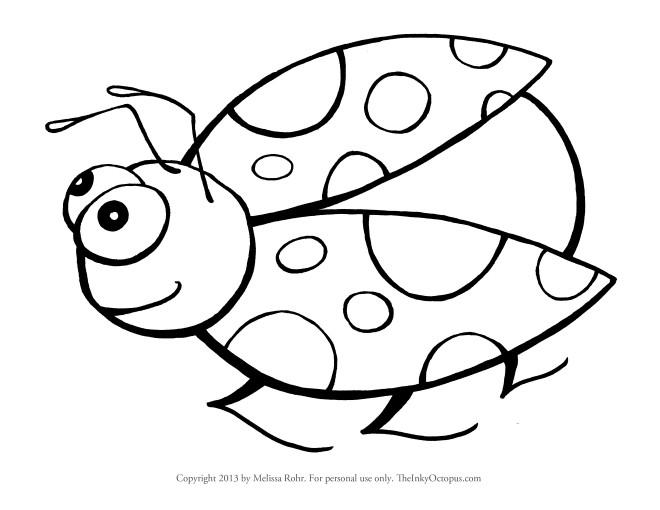 Coloriage coccinelle humoristique dessin gratuit imprimer - Coccinelle a colorier ...