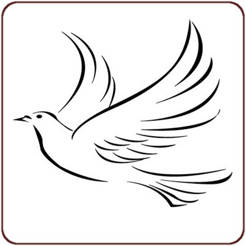 Coloriage colombe 17 dessin gratuit imprimer - Colombe en dessin ...