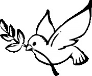 Coloriage colombe gratuit imprimer - Dessin colombe gratuit ...