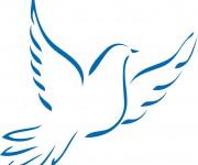 Coloriage colombe 24 gratuit imprimer en ligne - Dessin colombe gratuit ...