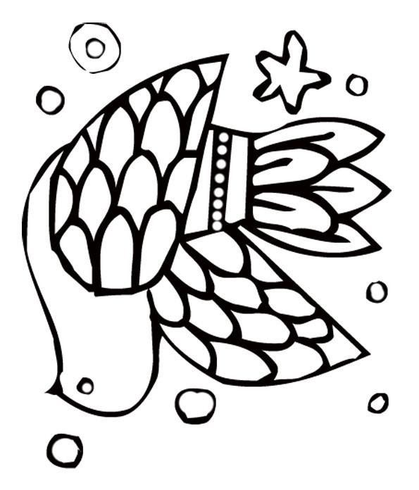 Coloriage colombe royale dessin gratuit imprimer - Dessin de colombe a imprimer ...
