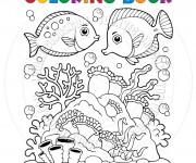 Coloriage dessin  Corail 6