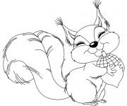 Coloriage et dessins gratuit Animaux Foret 46 à imprimer