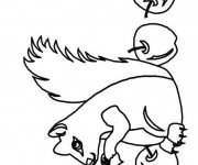 Coloriage et dessins gratuit Ecureuil 33 à imprimer