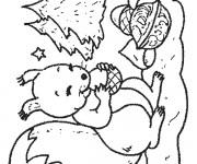 Coloriage et dessins gratuit Ecureuil 36 à imprimer