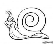 Coloriage dessin  Escargot 7