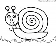 Coloriage dessin  Escargot 9