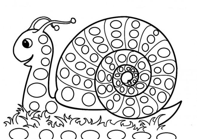 Coloriage Escargot Mandala.Coloriage Escargot Mandala Dessin Gratuit A Imprimer