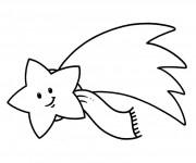 Coloriage dessin  Etoile 6