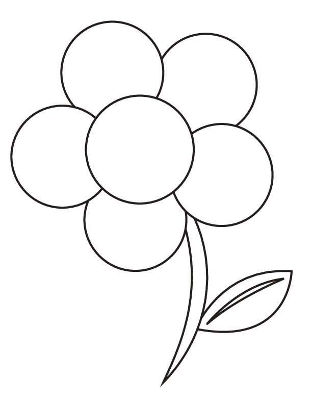 Coloriage fleur adulte maternelle dessin gratuit imprimer - Coloriage fleur 8 petales ...