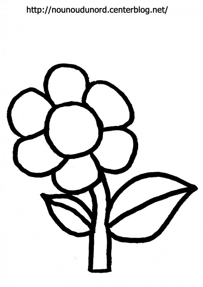 Coloriage et dessins gratuits Fleur agréable à imprimer