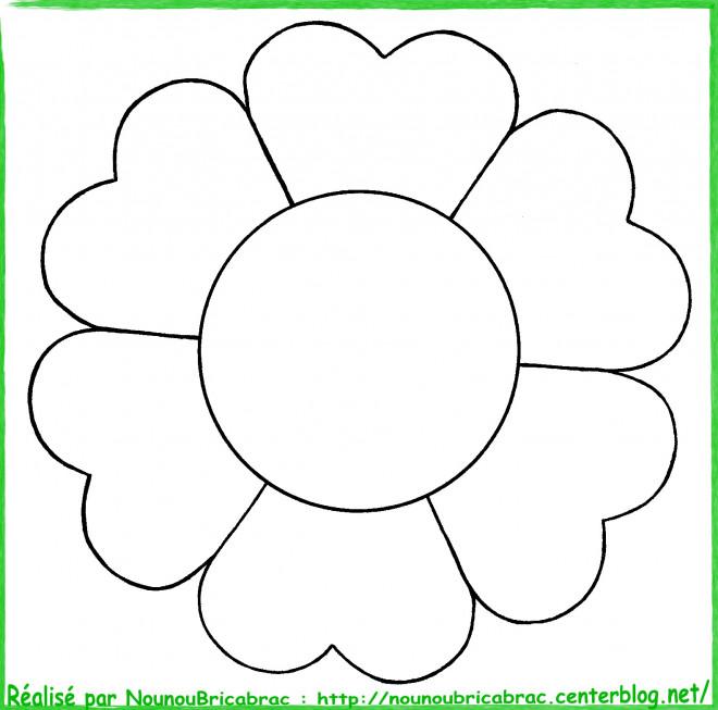 Coloriage Fleur Image Facile Dessin Gratuit A Imprimer