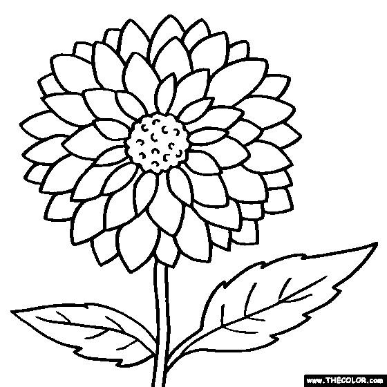 Coloriage et dessins gratuits Fleur pour enfant à imprimer