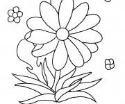 Coloriage et dessins gratuit Fleurs partout à imprimer