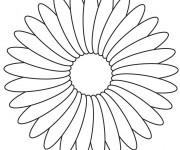 Coloriage Une jolie Fleur