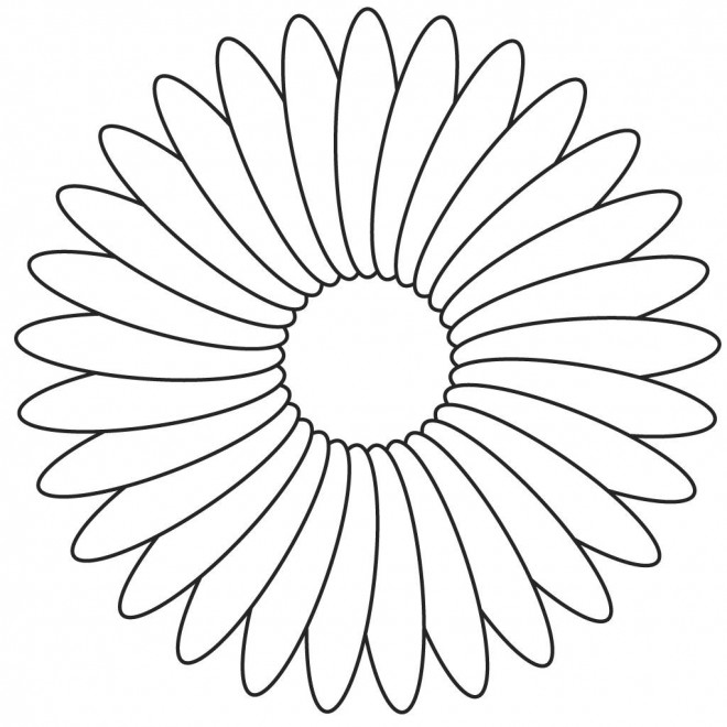 Coloriage une jolie fleur dessin gratuit imprimer - Coloriage fleur tres jolie ...