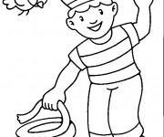 Coloriage et dessins gratuit Le petit Marin à imprimer