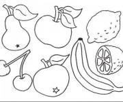 Coloriage dessin  Fruit 14