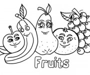 Coloriage dessin  Fruit 2