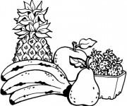 Coloriage dessin  Fruit 3