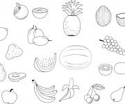 Coloriage dessin  Fruit 4