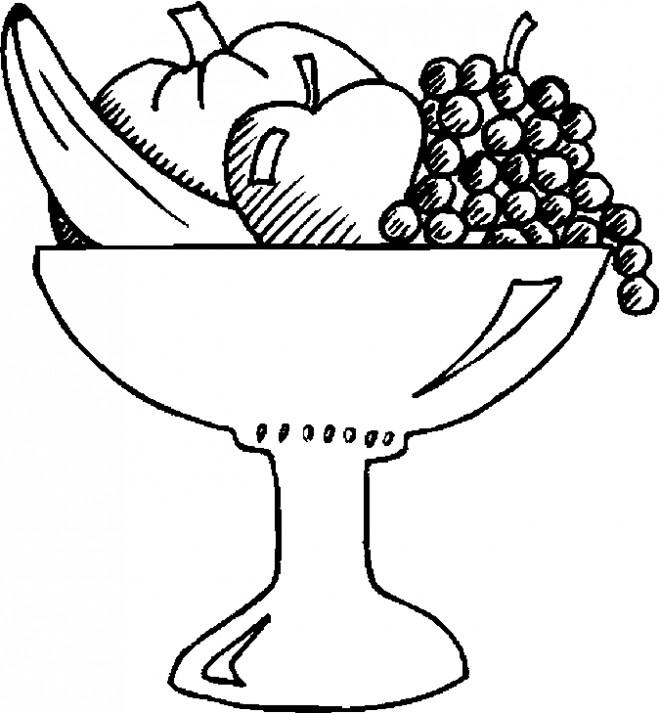Coloriage et dessins gratuits Fruits au crayon à imprimer