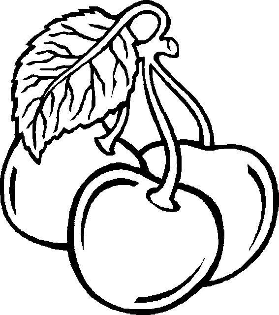 Coloriage et dessins gratuits Un Fruit stylisé à imprimer