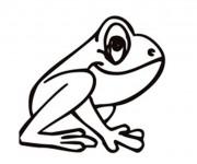 Coloriage et dessins gratuit Petite Grenouille à imprimer