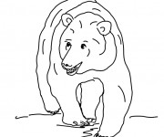 Coloriage dessin  Grizzly 9