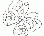 Coloriage Insecte Papillon Maternelle