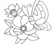 Coloriage dessin  Fleur 90